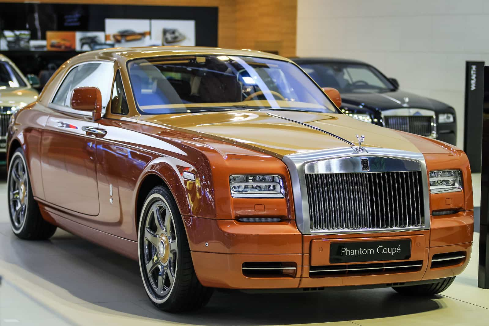two new rollsroyce phantom versions coupe tiger and