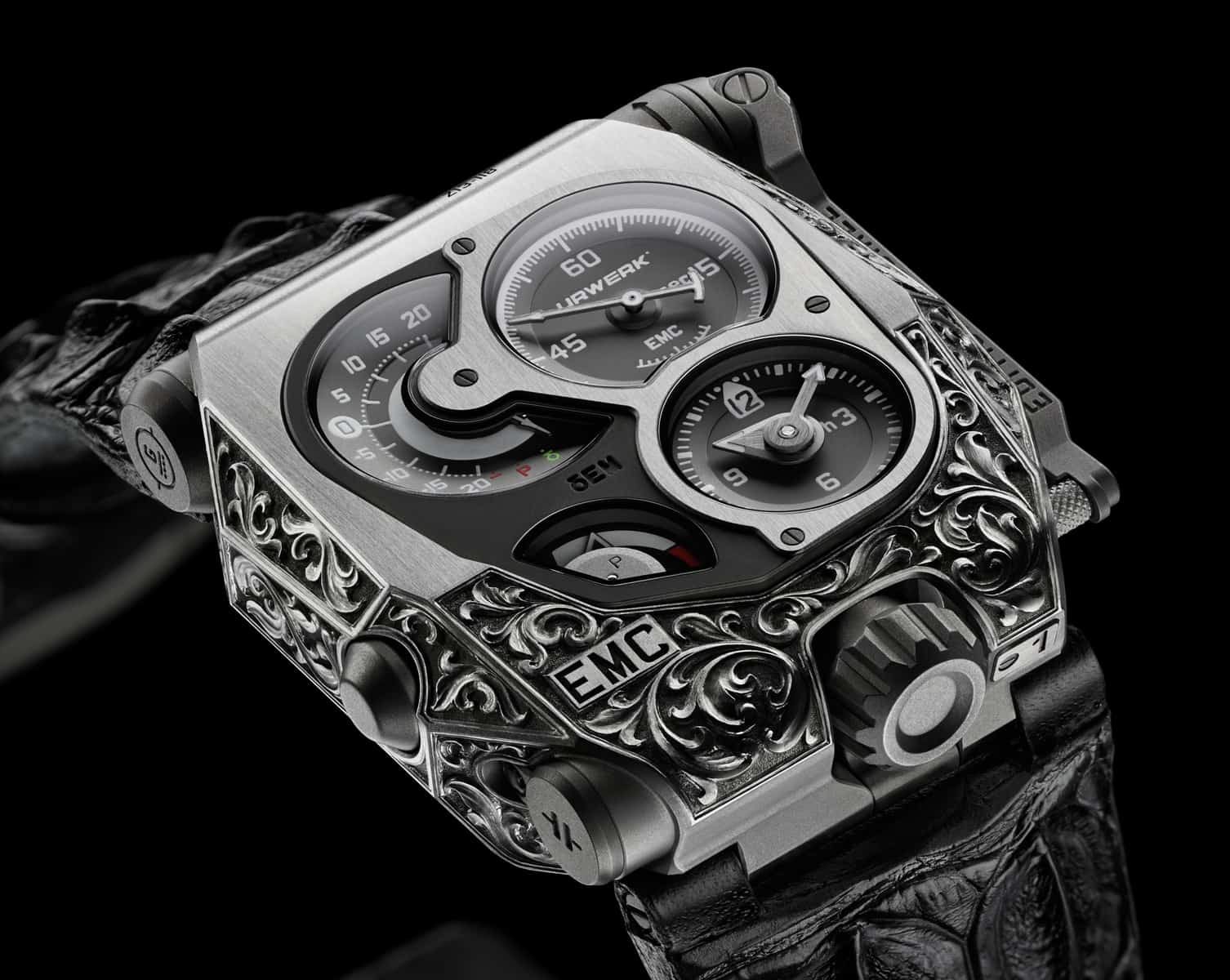 The Urwerk EMC Pistol Offers the Most Precise Measurement Possible