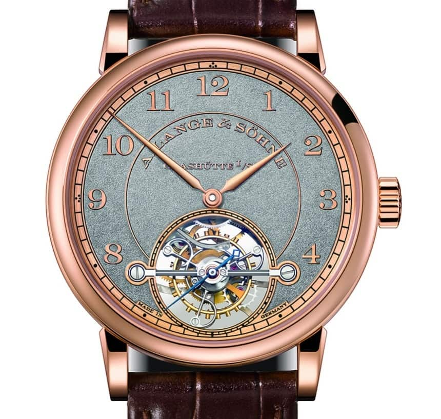 The A. Lange & Söhne Limited Edition 1815 Tourbillon ...