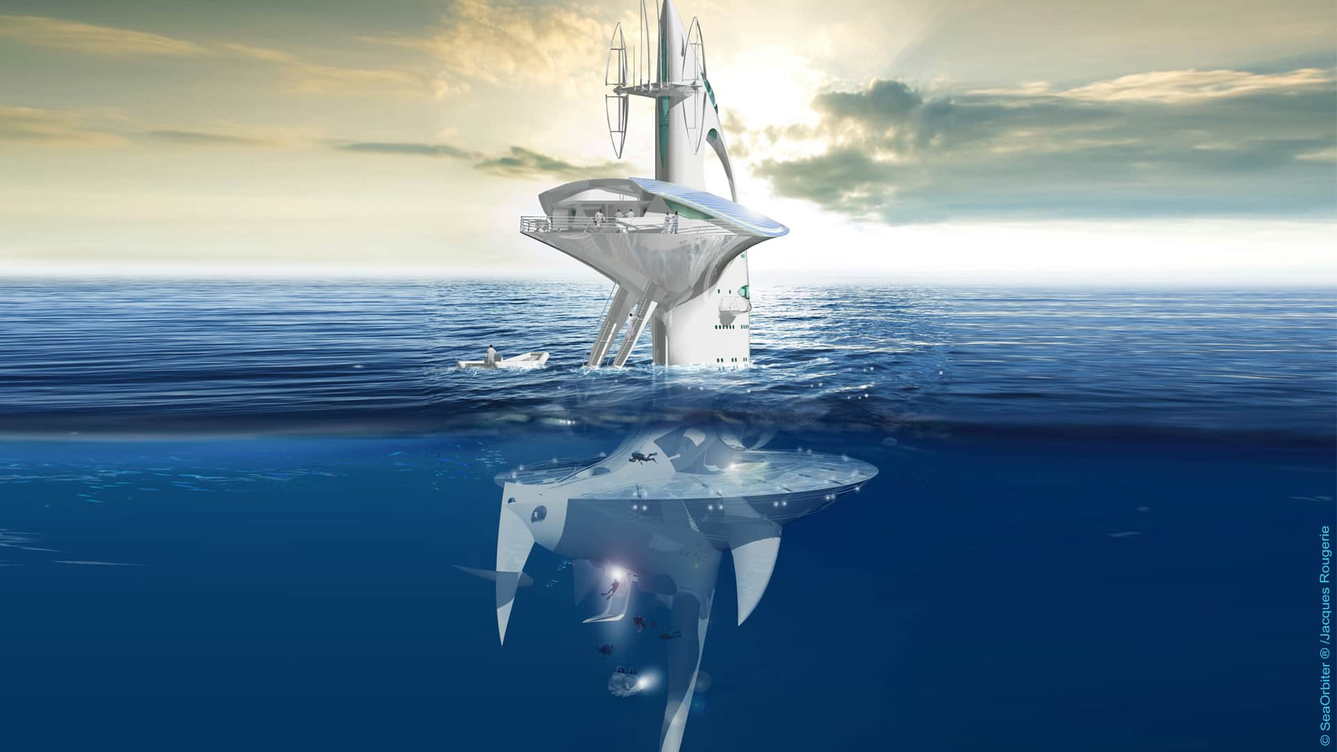 Back In 1977 Architect Jacques Rougerie Built The Galathee First Underwater Habitat Design A Concept That Was Beyond Impressive For Period