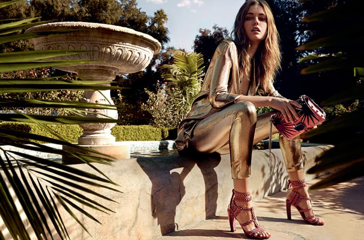 Jimmy Choo Spring 2016 Campaign