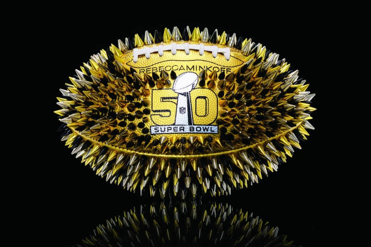 Celebrate Super Bowl 50 with these Bespoke Footballs