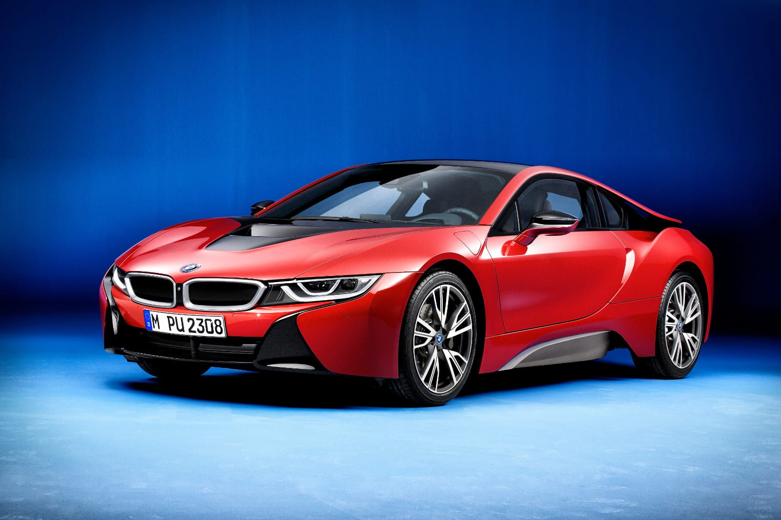 The BMW I8 Protonic Red Edition Will Be Unveiled In Geneva