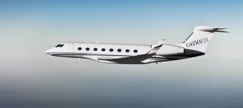 Gulfstream G650 Jet