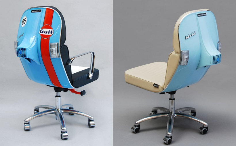 Incredible The Updated Vespa Chairs Look Uber Cool Gmtry Best Dining Table And Chair Ideas Images Gmtryco