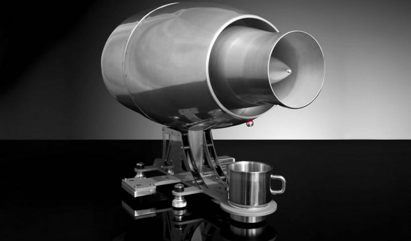 The Aviatore Veloce Espresso Machine Is An Expression Of Love