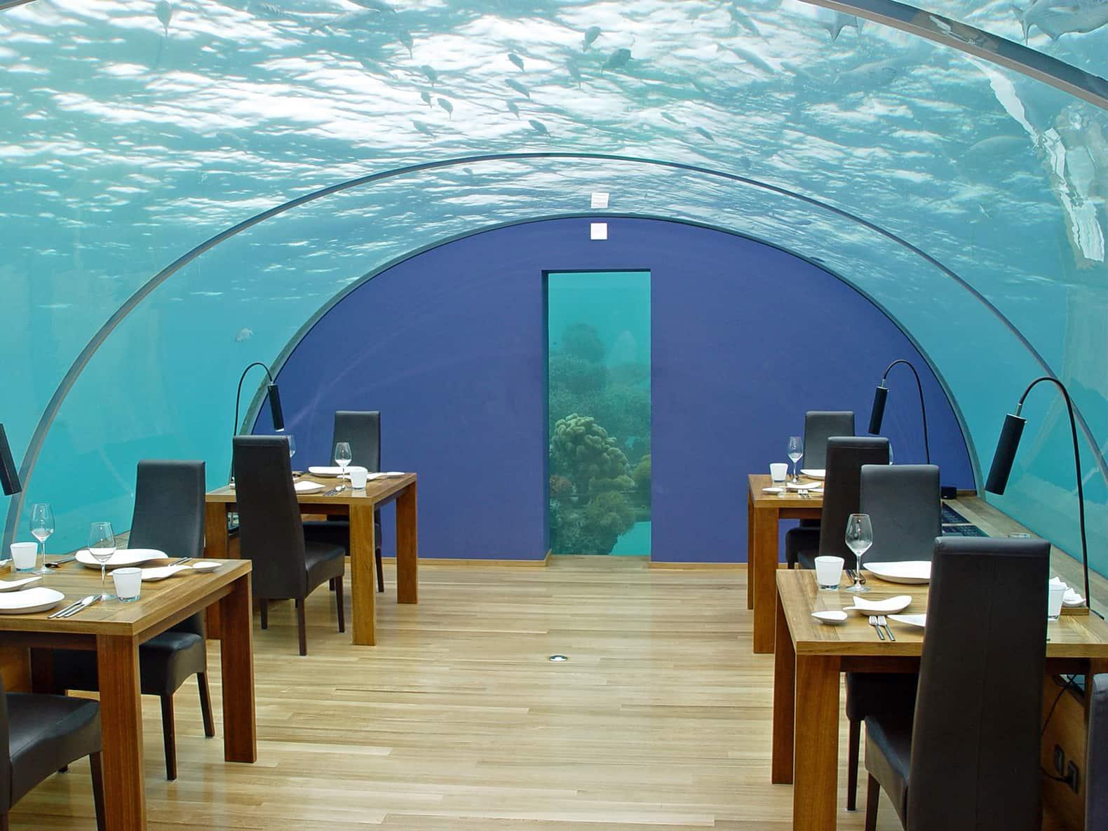 Largest Underwater Restaurant