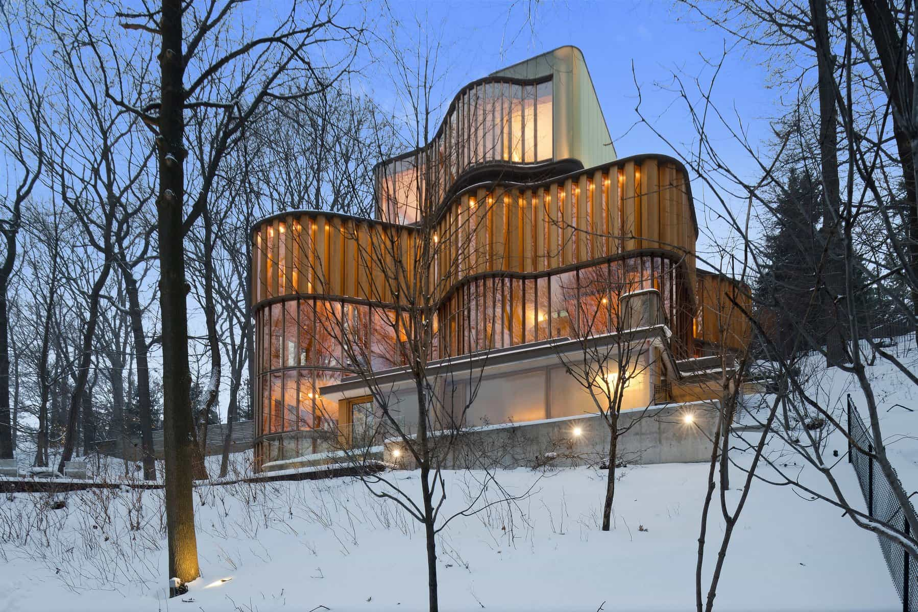 Inspired by Math, the Integral House Is up for Sale