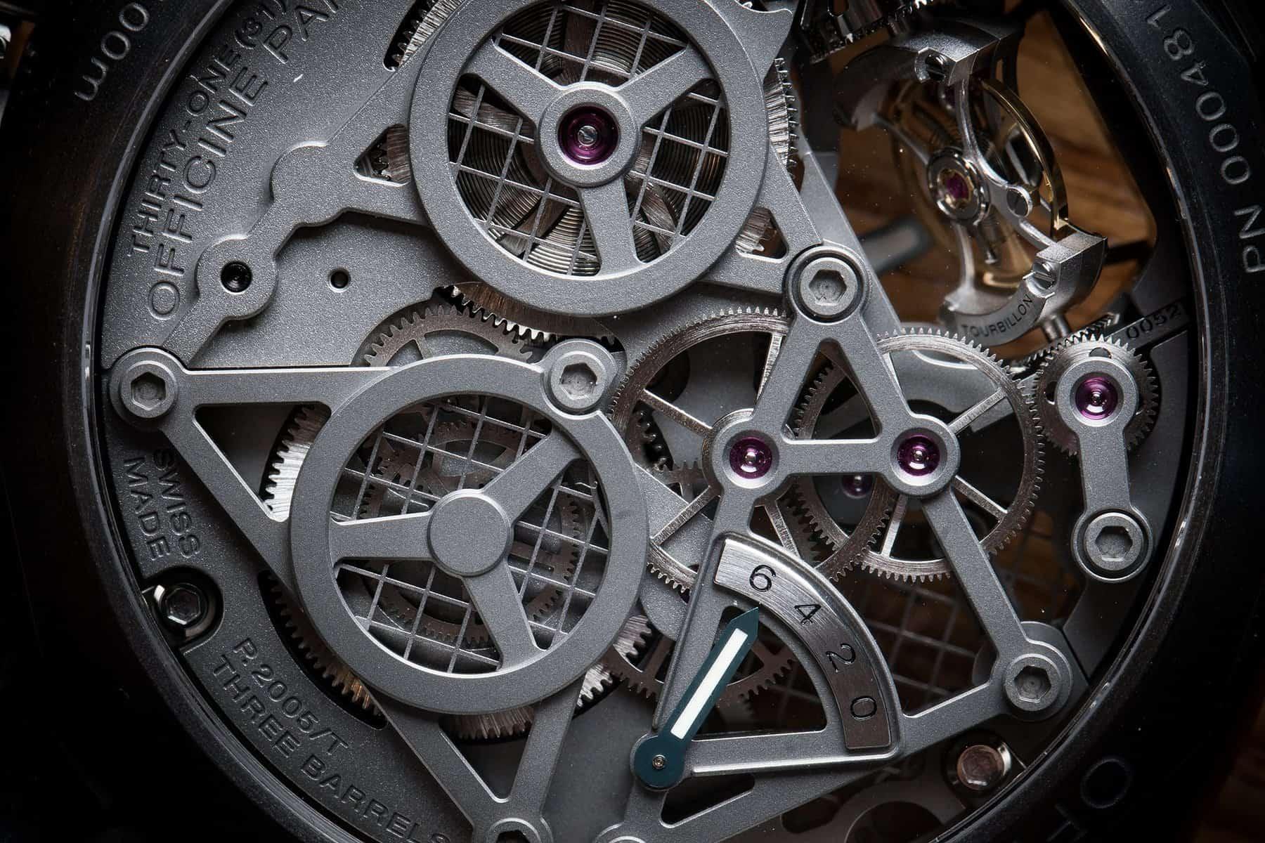 Panerai Lo Scienziato Luminor 1950 Tourbillon GMT Titanio