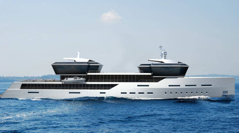Impossible Productions Unveil A Stunning Explorer Yacht
