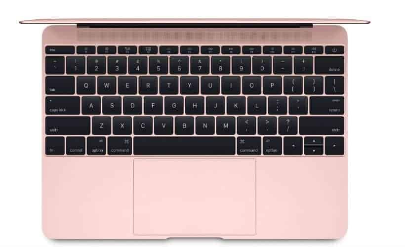 Apple MacBook Rose Gold 4