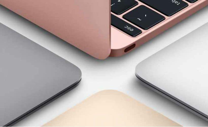 Apple MacBook Rose Gold 6
