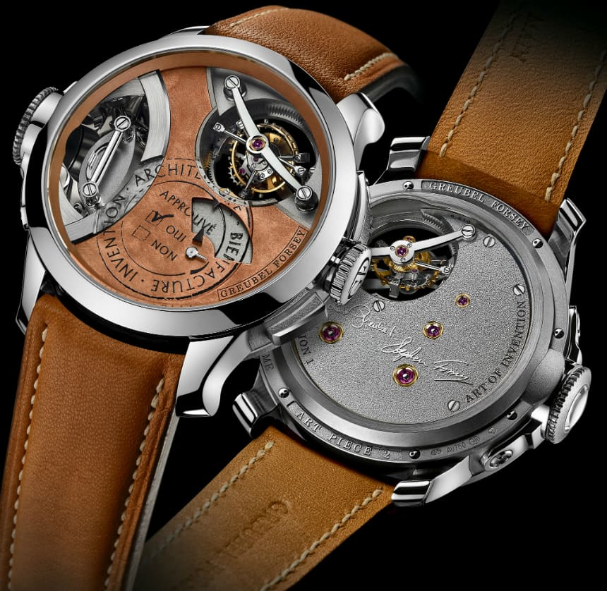 Greubel Forsey unveils the Art Piece 2, Edition 1 Watch