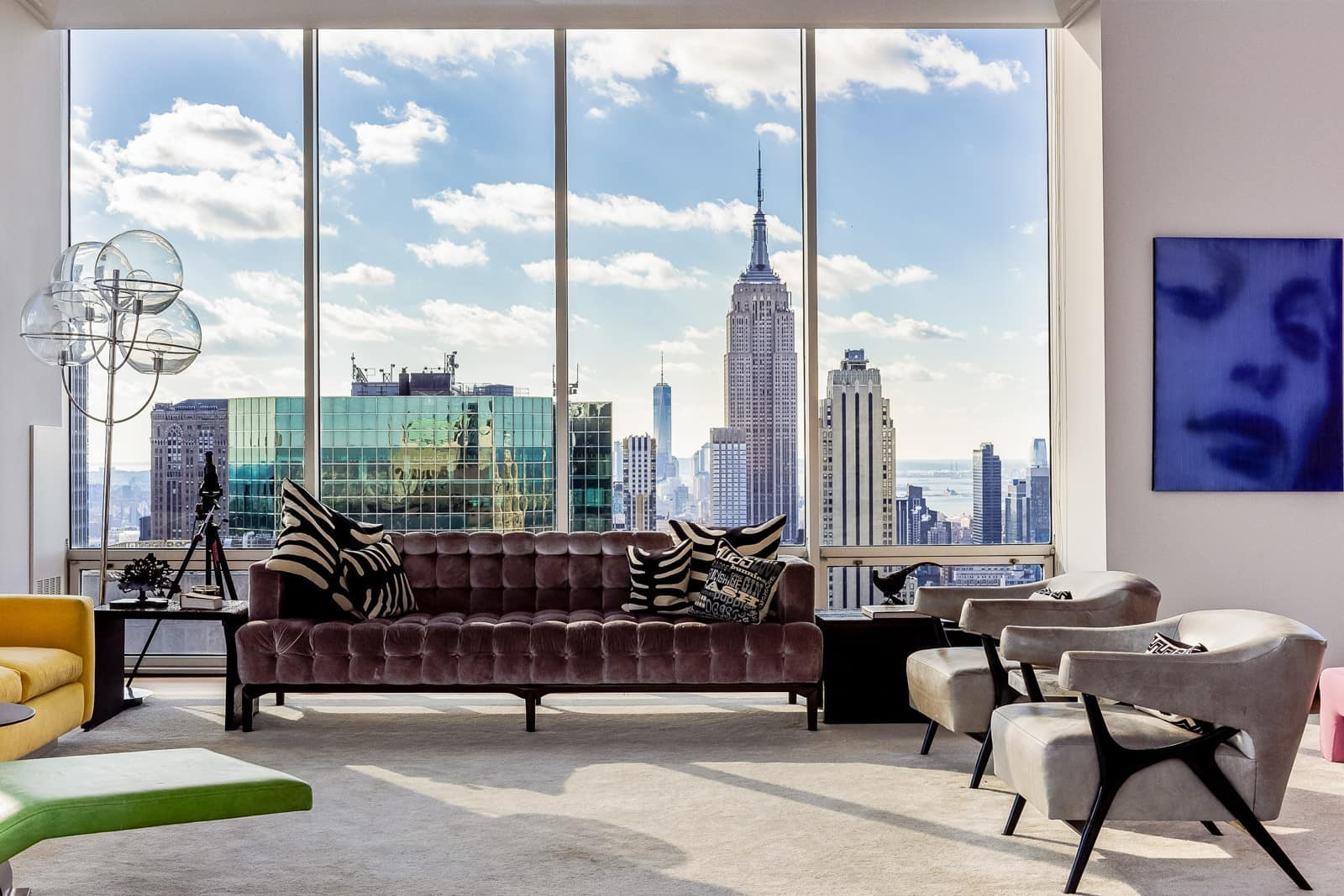 Make a statement in the heart of nyc with the gucci penthouse for Appartamenti lusso new york