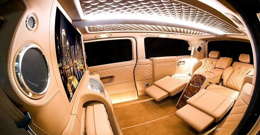 Mercedes Viano conversion