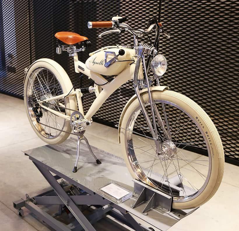 agnelli milan bike