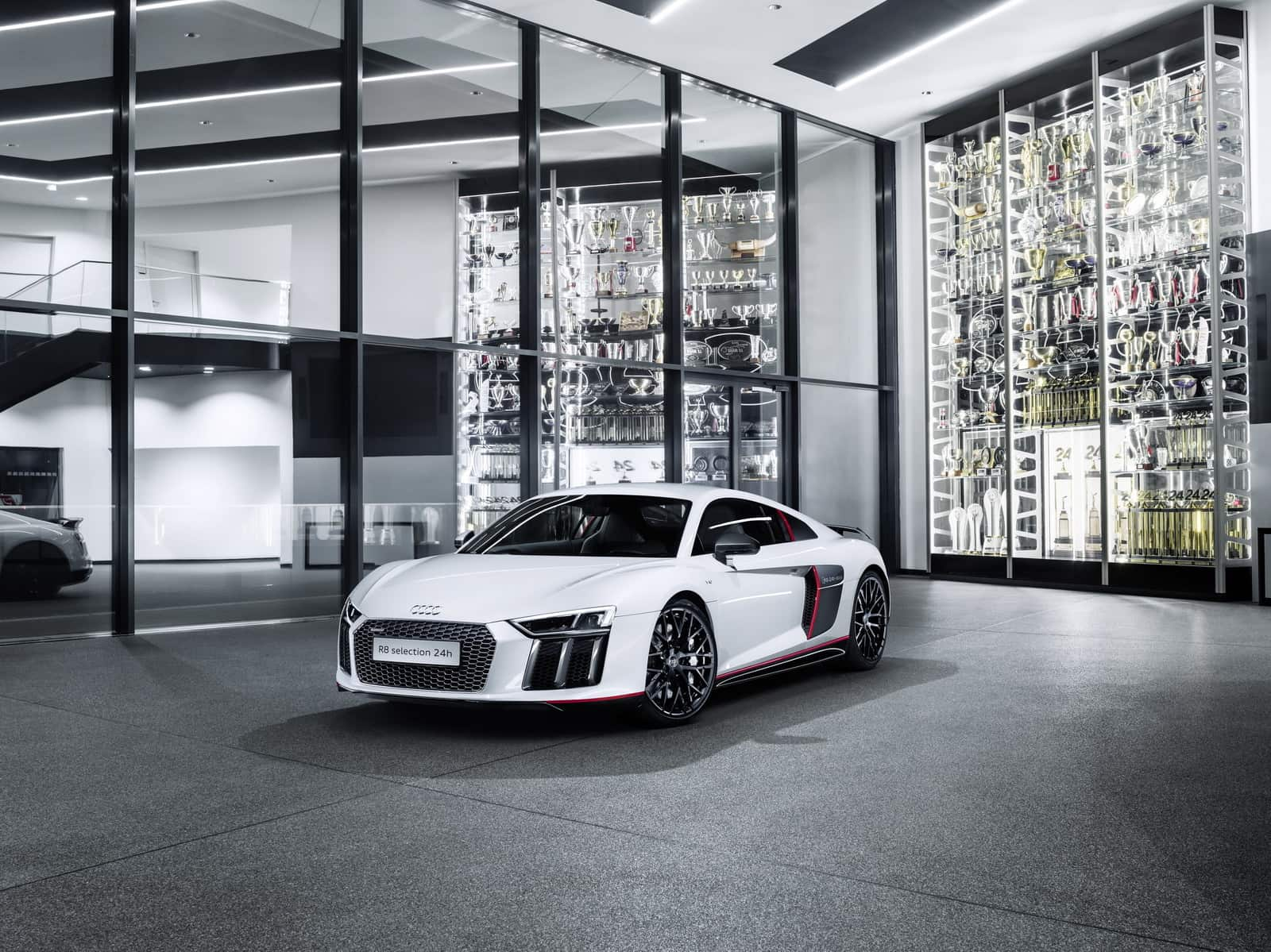 The Audi R8 Coupe V10 Plus Selection 24h Edition