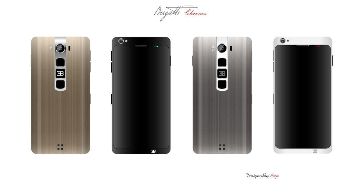 Bugatti Chronos Smartphone