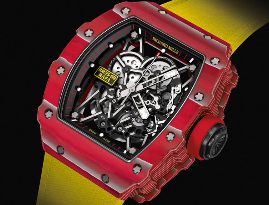 Perfect For Iron Man The Richard Mille Rm 35 02 Rafael Nadal Watch