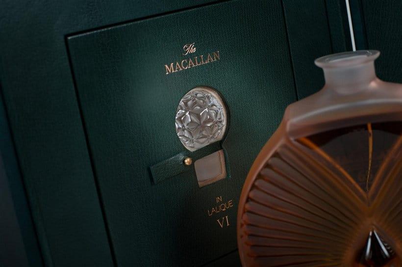 Macallan in Lalique Six Pillars