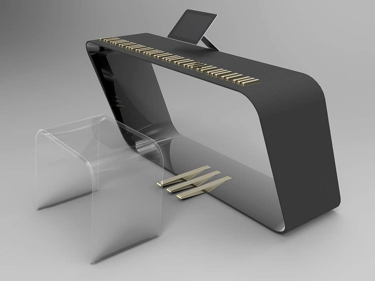 The mPiano Was Touched By Porsche Design Style