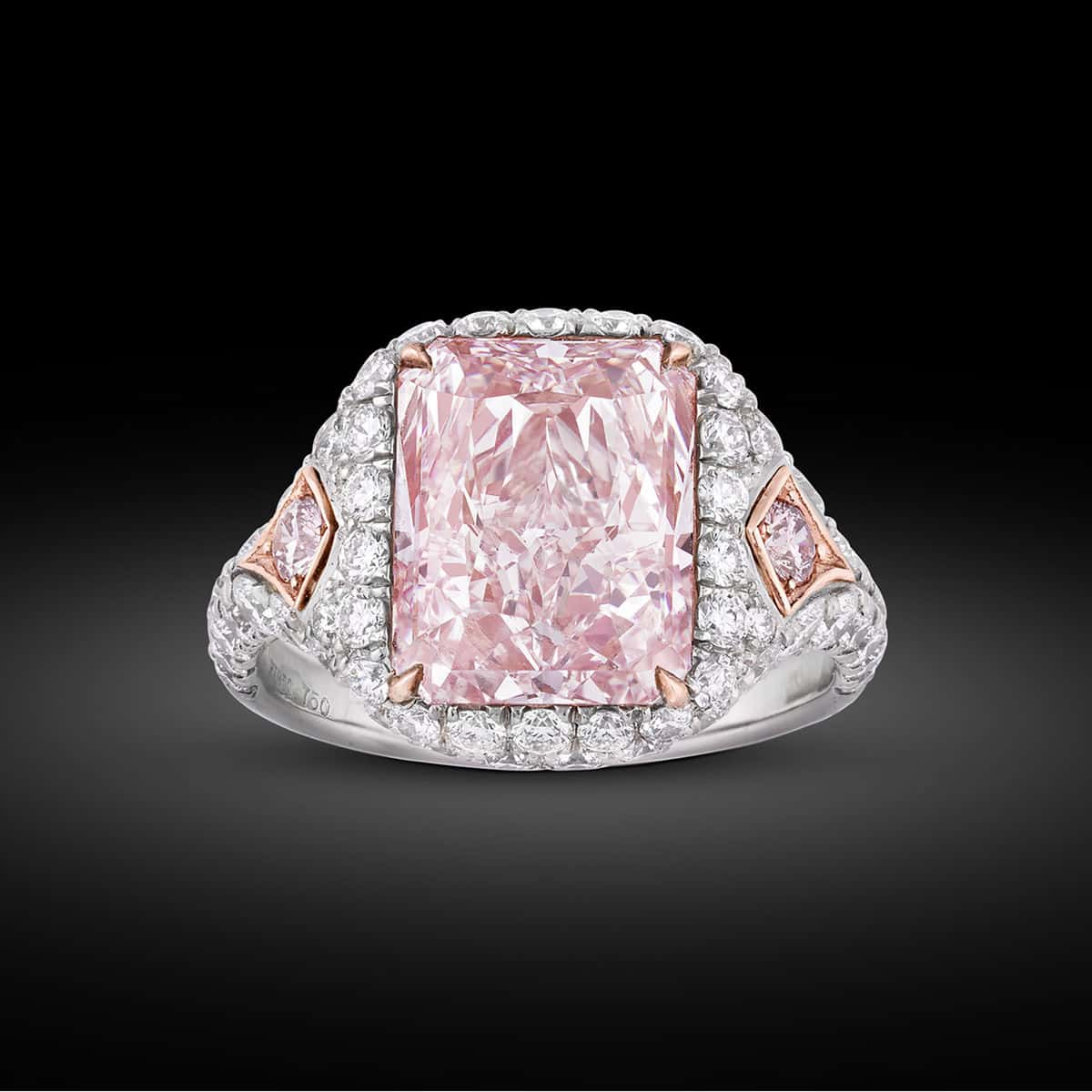 Would You Like A 5 Million Fancy Pink Diamond Ring