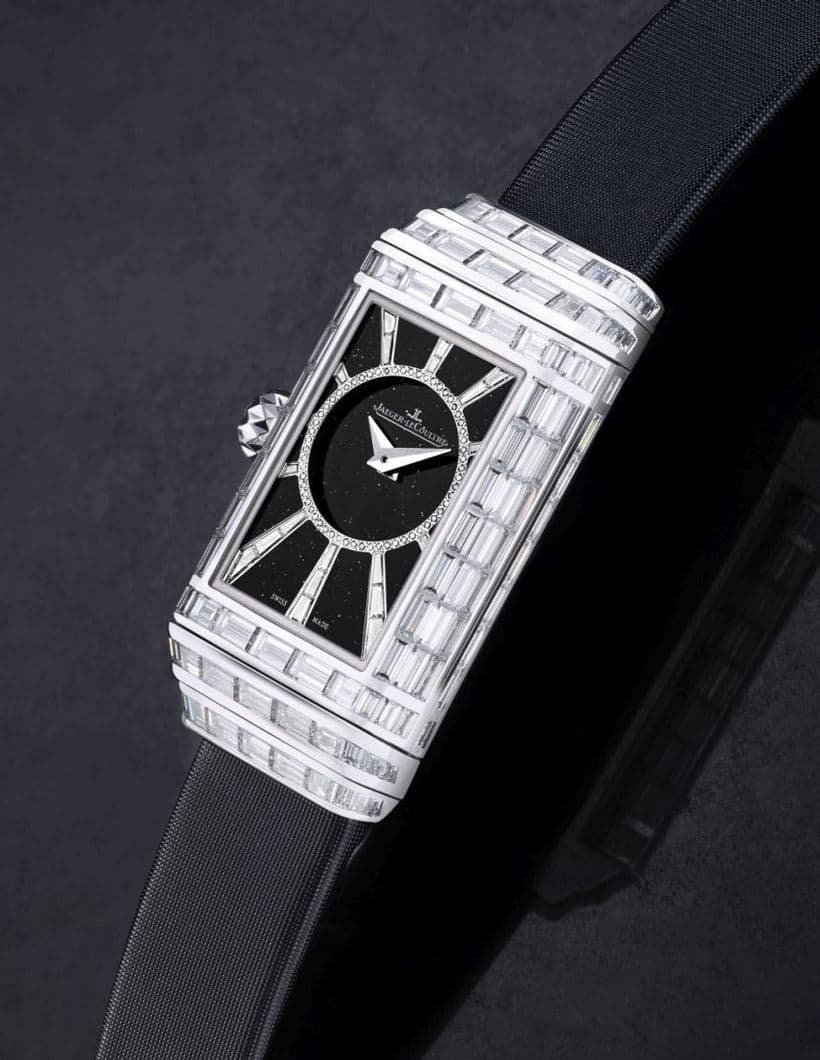 Jaeger-LeCoultre's Reverso One High Jewelry Duetto