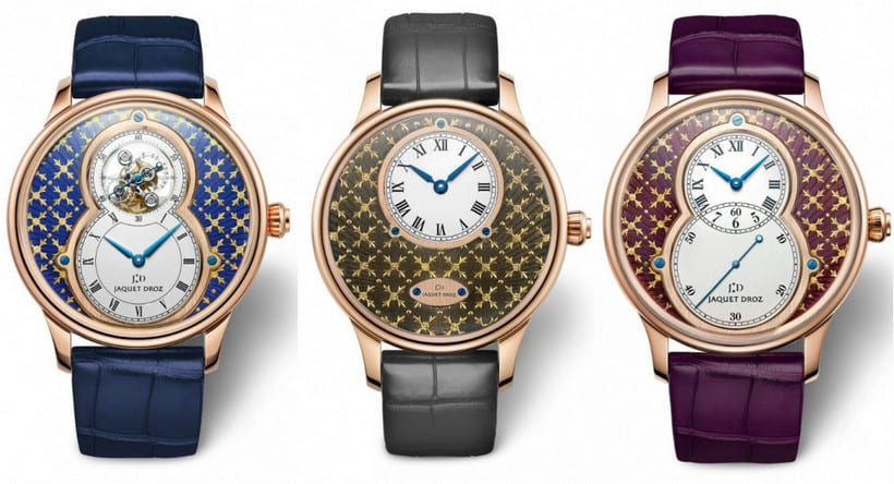 Beauty in the Details: Paillonné Enameled Watches by Jaquet Droz