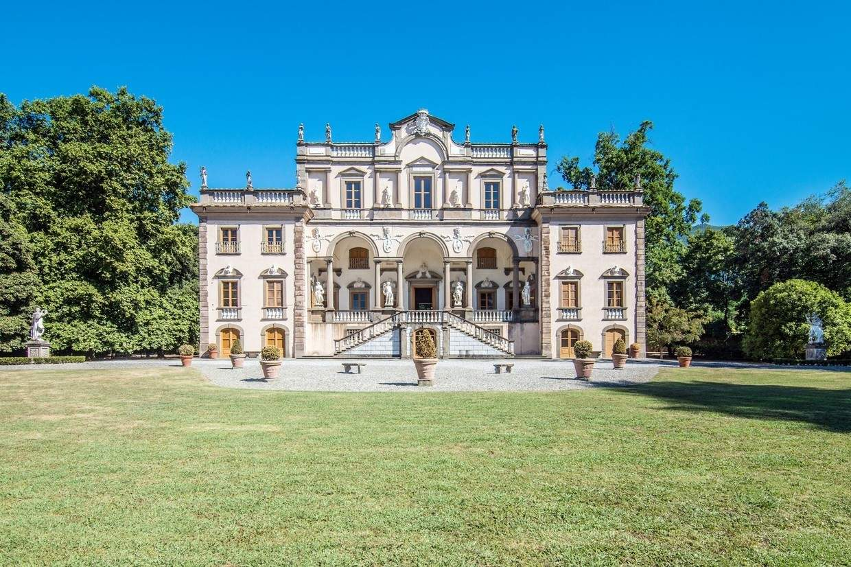 Luxurious lucca mansion is 19m of pure italian style for 1 homes in italy