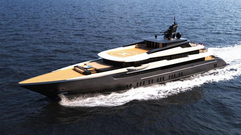 Ferrari Franchi's Modern M/Y F60 Concept Yacht Is Just Wonderful