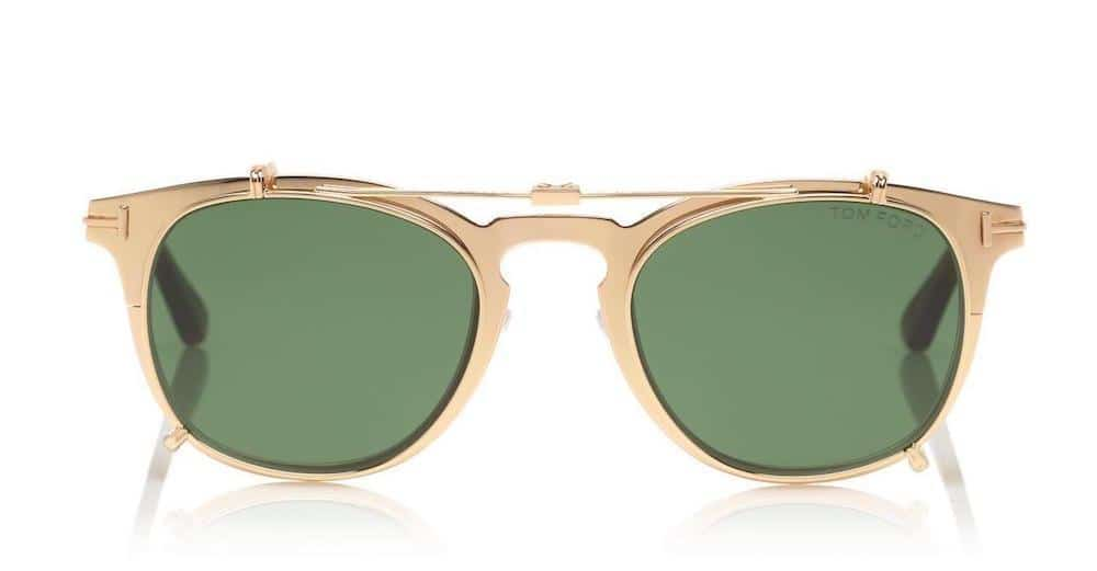 Tom Ford's Gold Plated Sunglasses