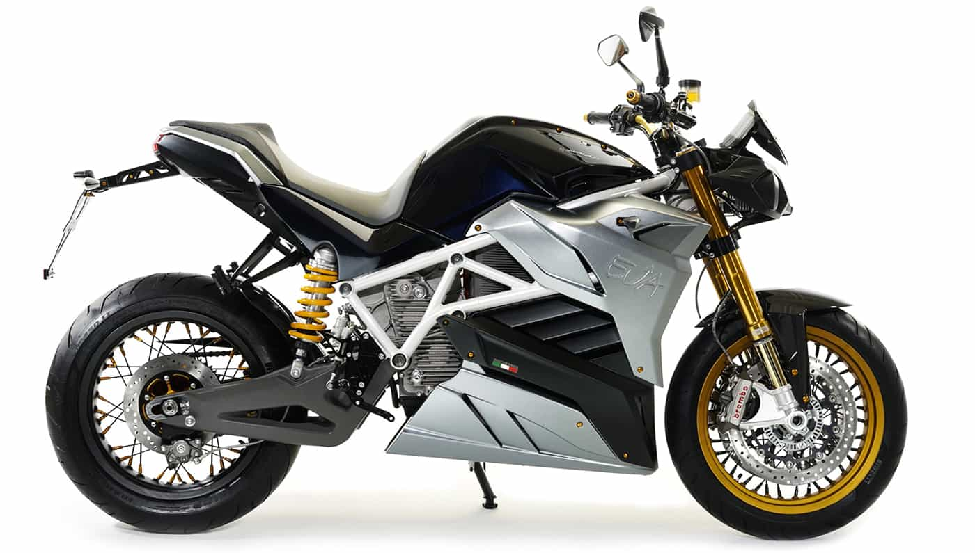 The Energica Eva All Electric Motorcycle Is All About Speed
