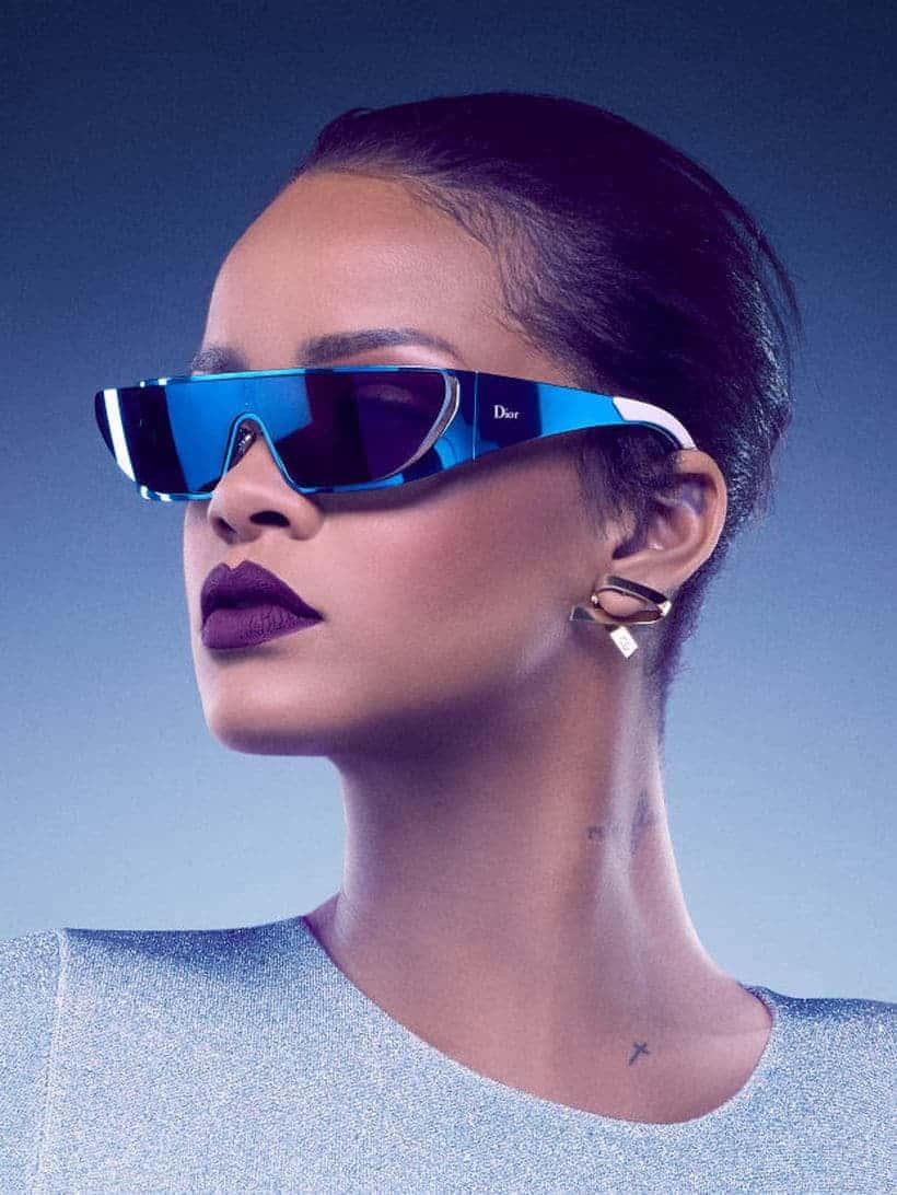 Rihanna and Dior