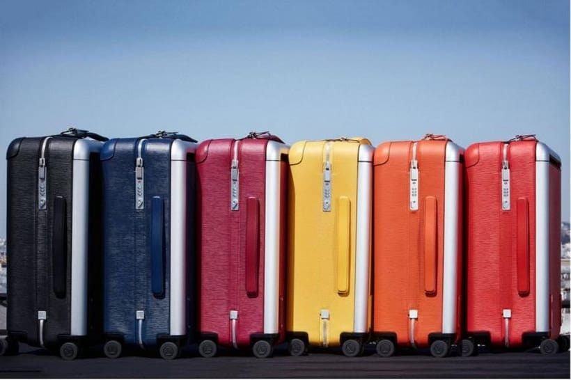 Louis Vuitton's New Rolling Trunks