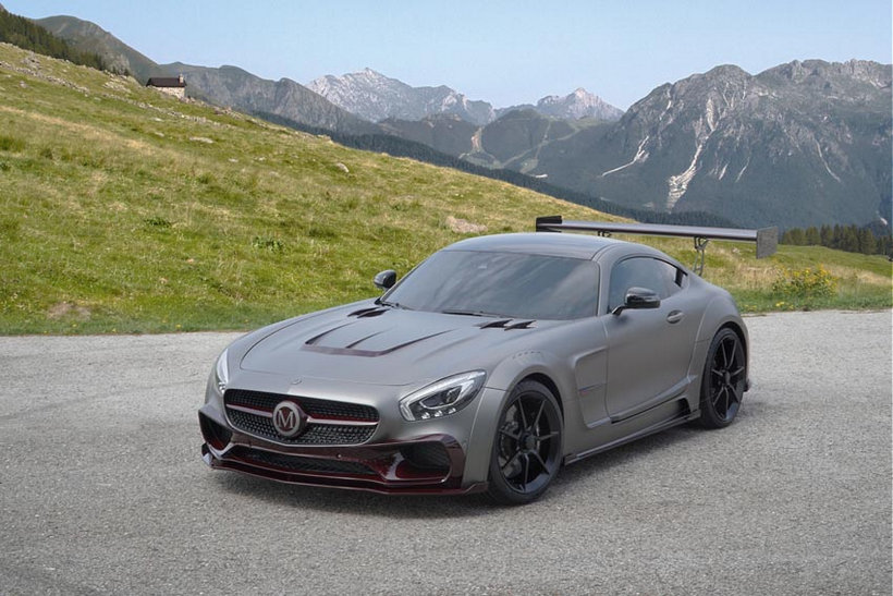 Wide-Body Mercedes-AMG GT S