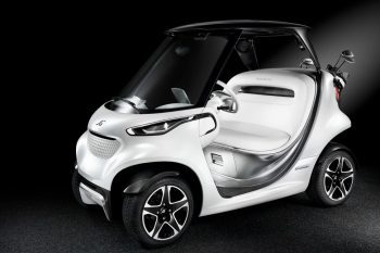 Mercedes-Benz Style Edition Garia Golf Car 1