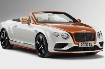 Orange Flame Bentley Continental Mulliner 1
