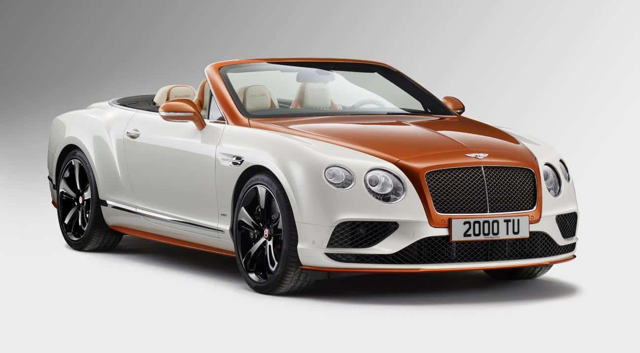 Orange Flame Bentley Continental