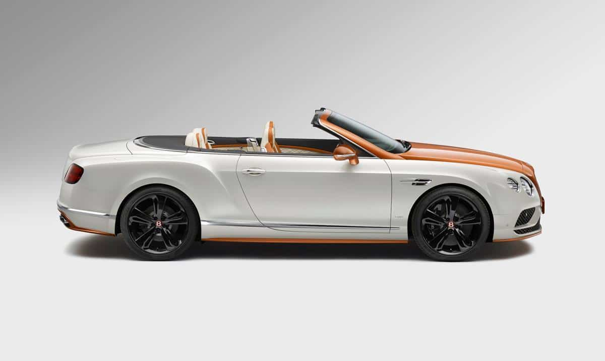 Orange Flame Bentley Continental Mulliner 2