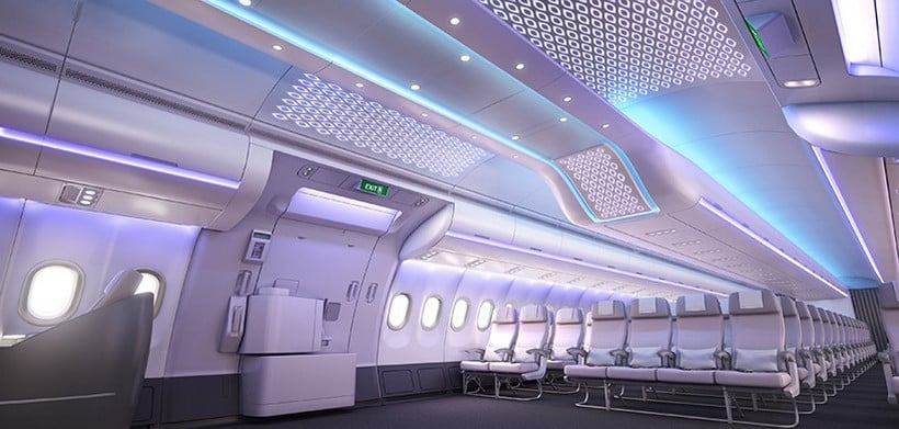 Airspace by Airbus - A New Mesmerizing Cabin Concept