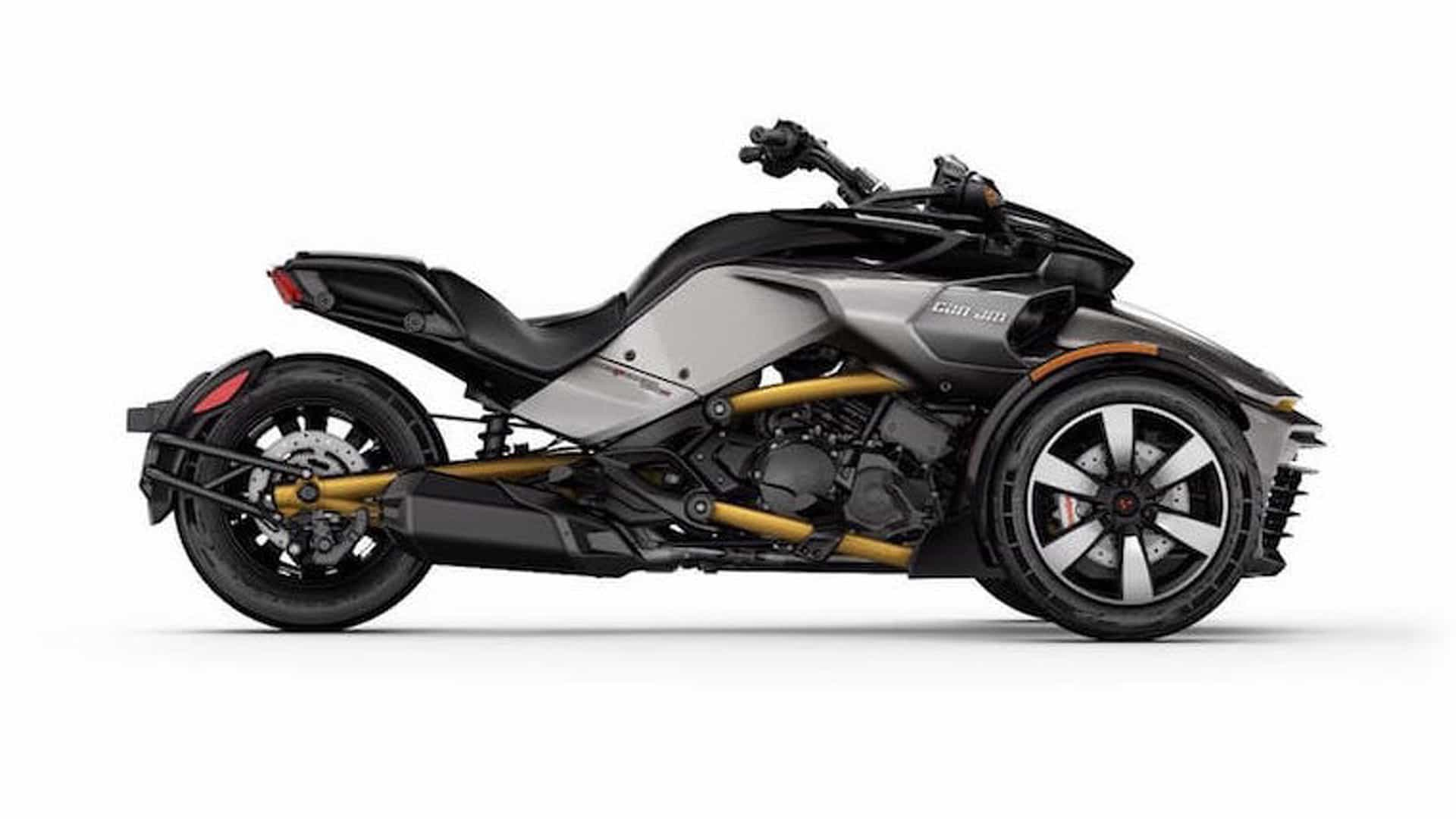the can am spyder f3 s goes from concept to reality. Black Bedroom Furniture Sets. Home Design Ideas