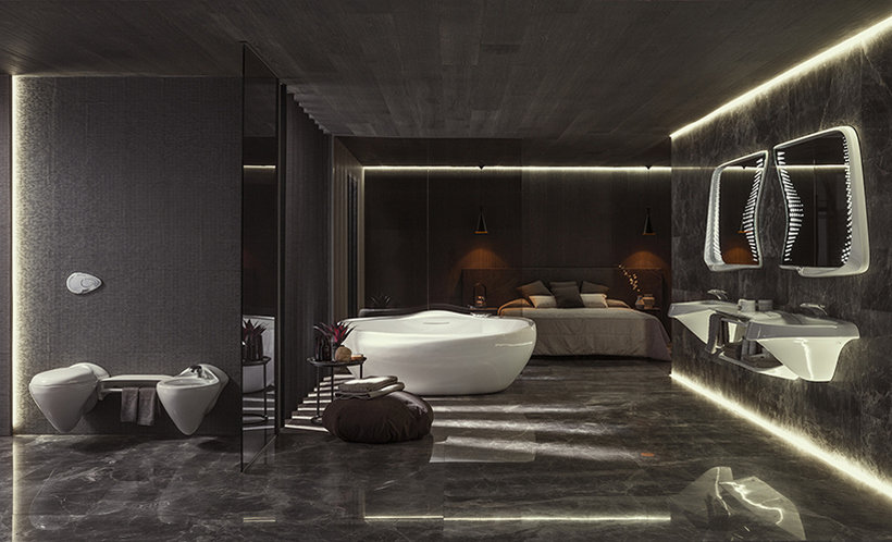 Vitae is a Gorgeous Bathroom Collection from Zaha Hadid Design