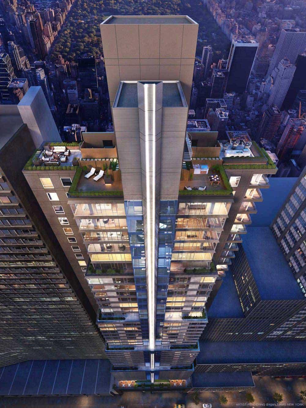 135W52 Triplex Penthouse