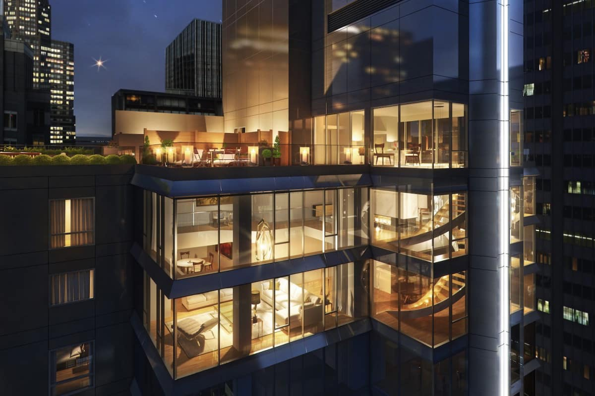 The 135W52 Triplex Penthouse Is One of New York's Most Desirable Properties
