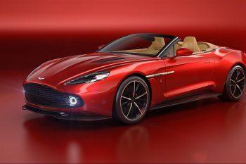 Aston Martin Vanquish Zagato Volante 1