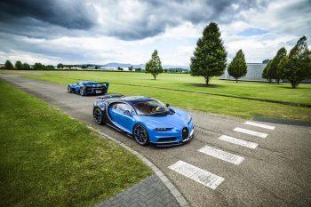 Bugatti Chiron Show Car & Vision Gran Turismo Concept 1