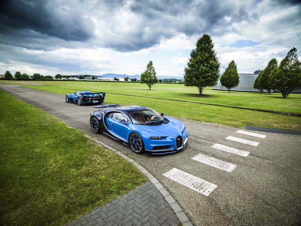 Saudi Prince is the Proud Owner of a Bugatti Chiron And the Vision Gran Turismo Concept