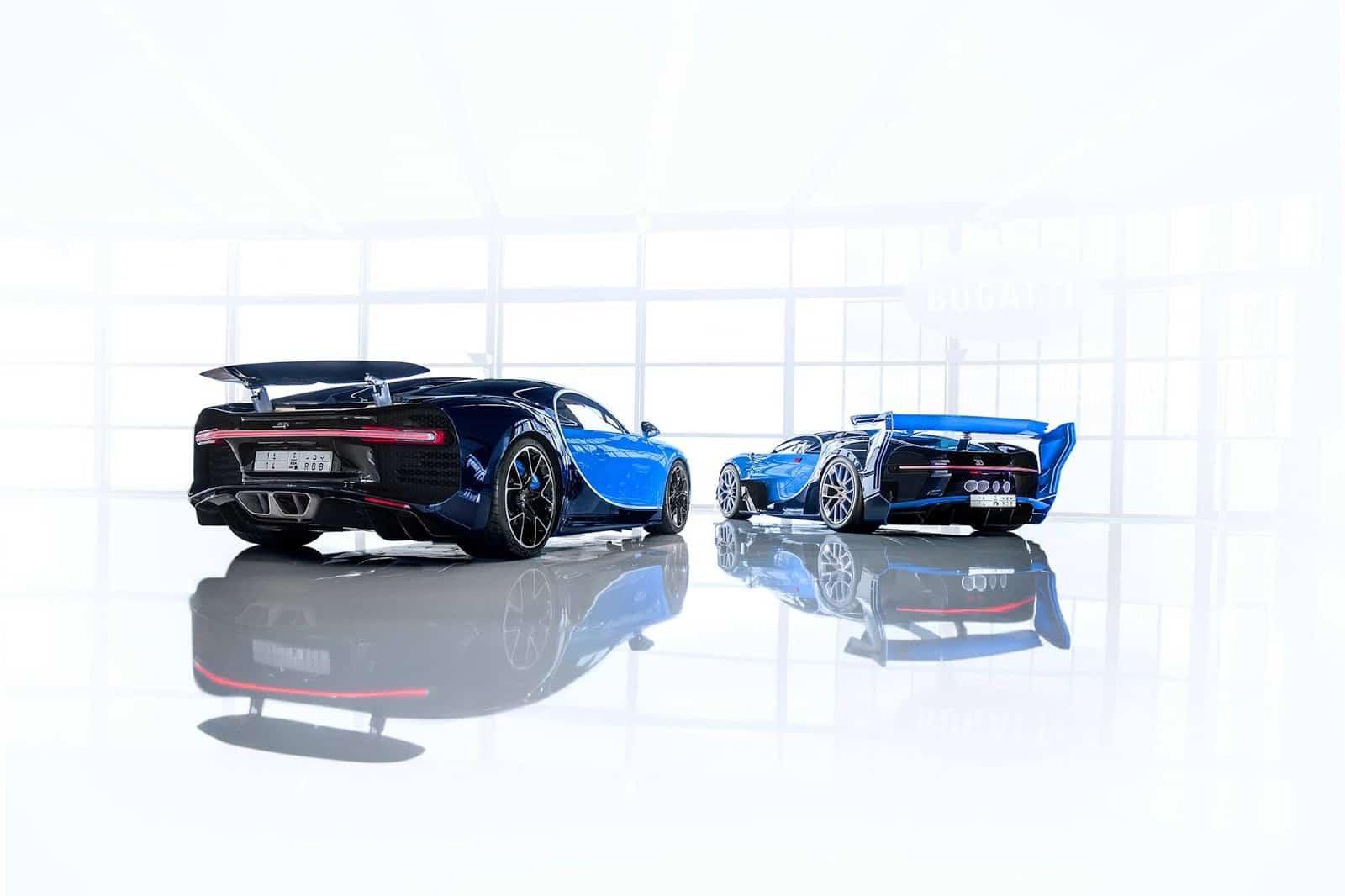 Bugatti Chiron And the Vision Gran Turismo Concept