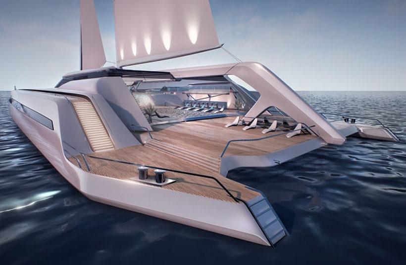 Eco Catamaran Concept