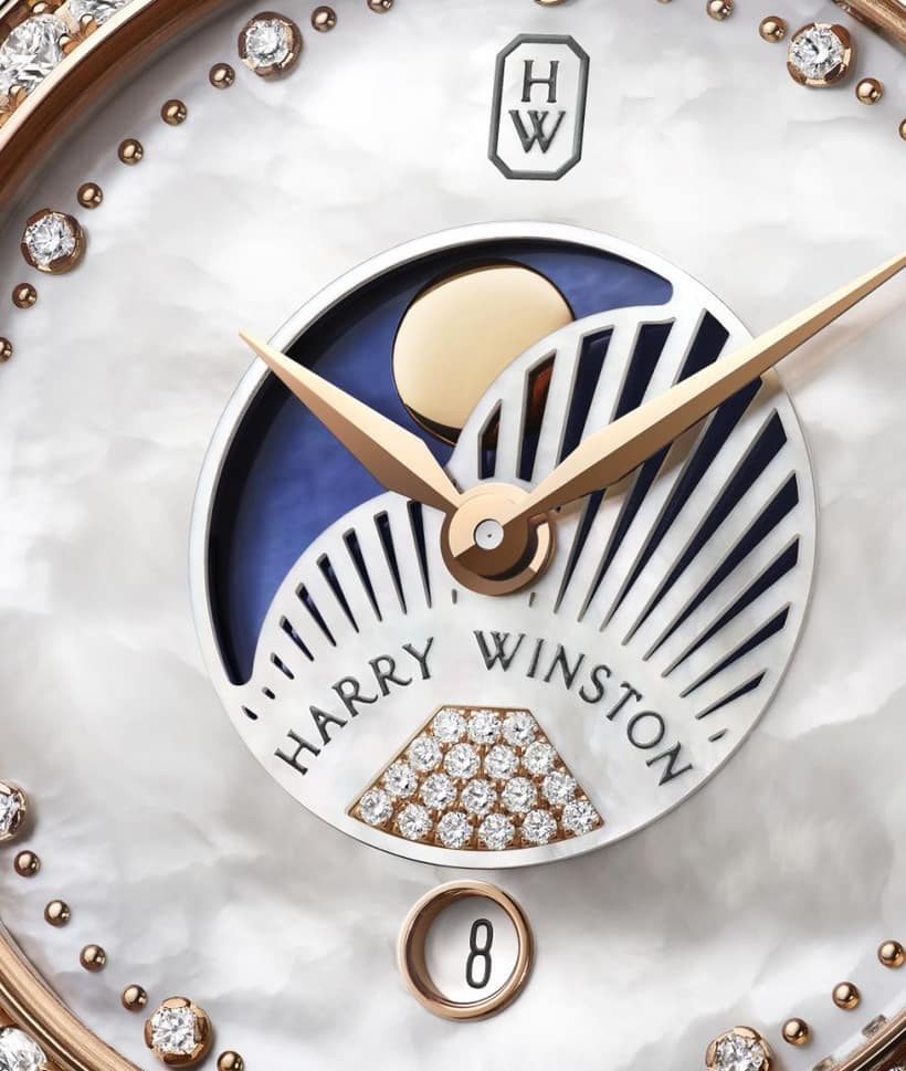 Harry Winston Premier Moonphase 36